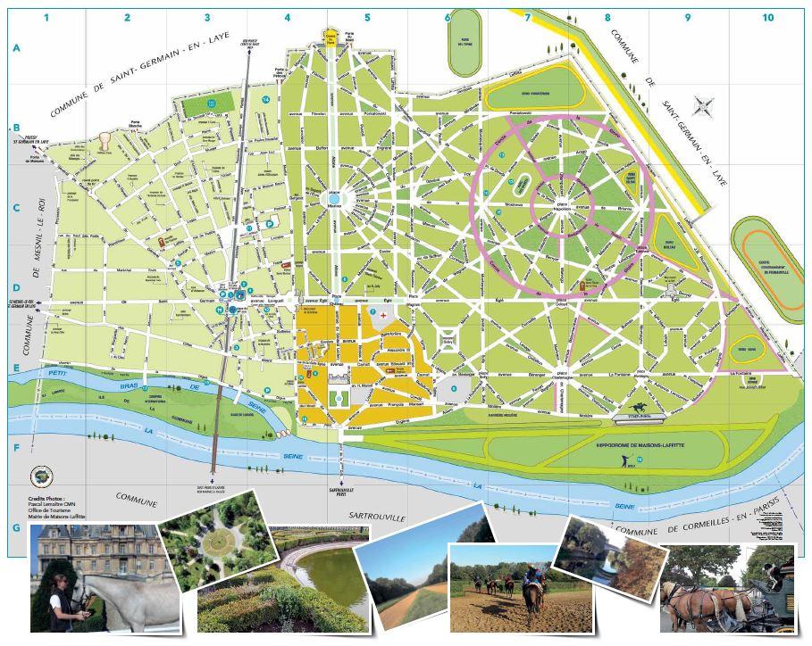 Plan et acc s office de tourisme de maisons laffitte - Office de tourisme de maisons laffitte ...