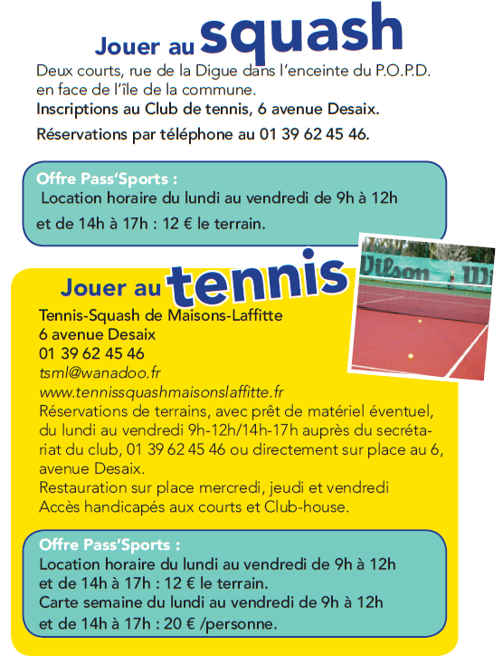 Tennis Squash