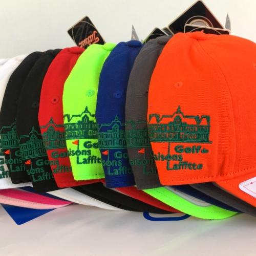 Casquettes Golf Maisons-Laffitte