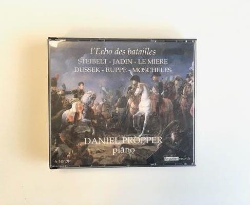 Album L'Écho des Batailles de Daniel Propper