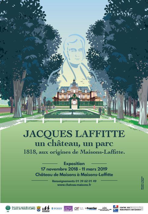 """Exposition : """"Jacques Laffitte, un château, un parc"""""""