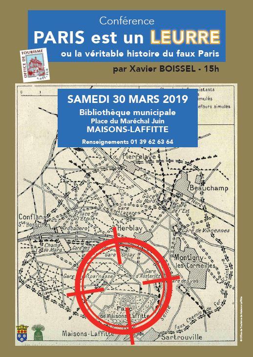 """Conférence : """"Paris est un leurre"""" par Xavier Boissel"""