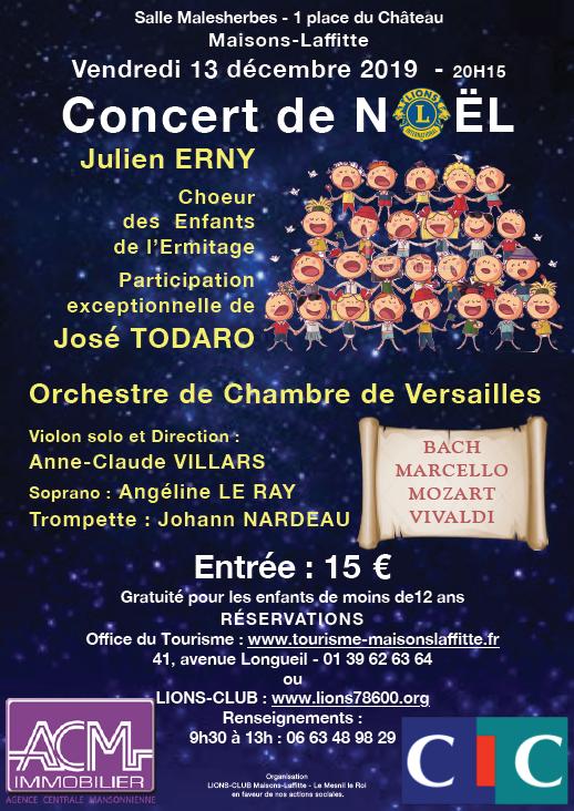 Concert de Noël du Lions Club