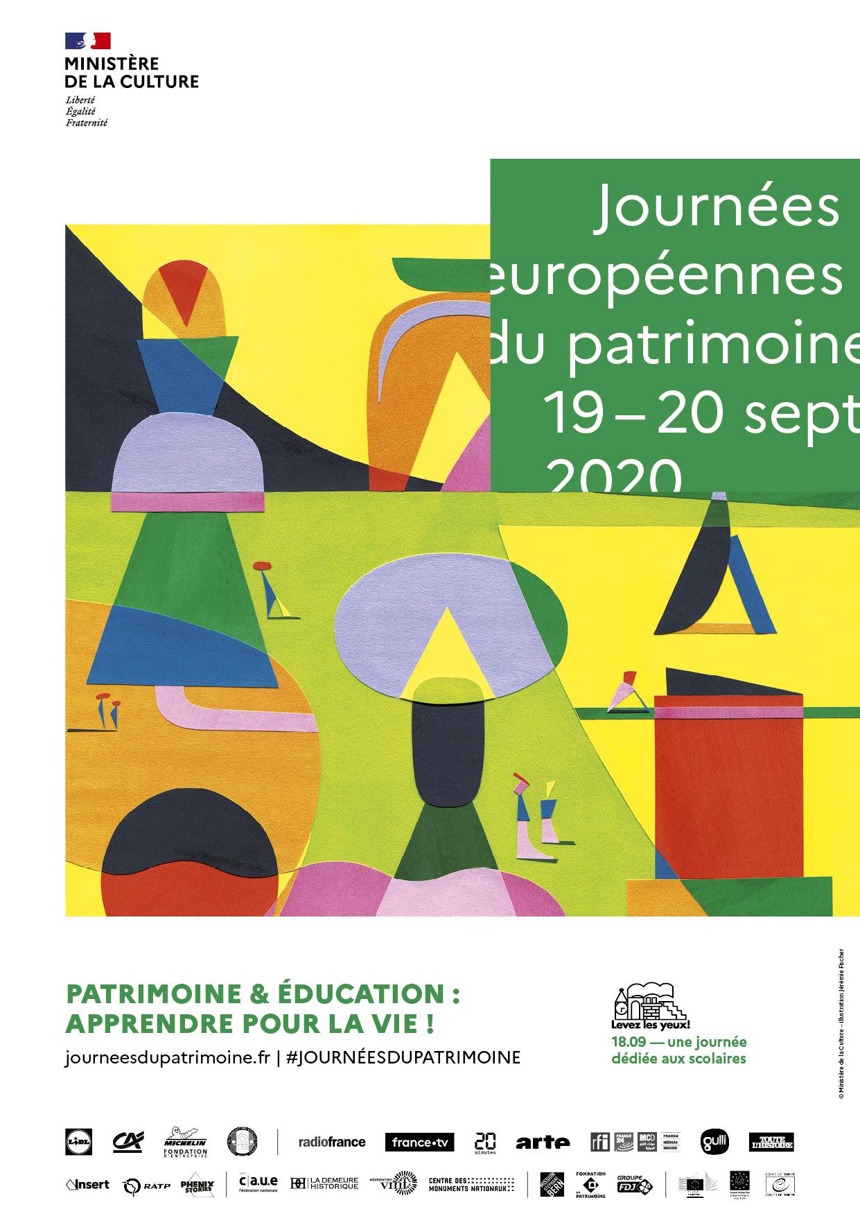 Les Journées Européennes du Patrimoine : Château de Maisons