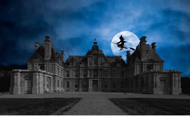 Chasse au fantôme au château de Maisons !